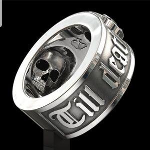 """Men's """"Til' death do us part"""" Ring"""